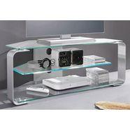 """jahnke tv-meubel cu-mr 105 breedte 114 cm (voor tv-afmetingen tot 50""""-127 cm geschikt) zilver"""