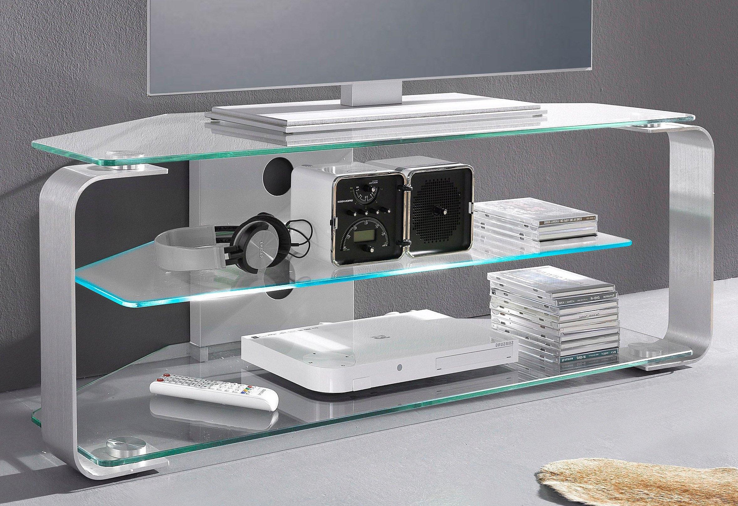 Jahnke tv meubel met 3 glasplateaus snel online gekocht otto