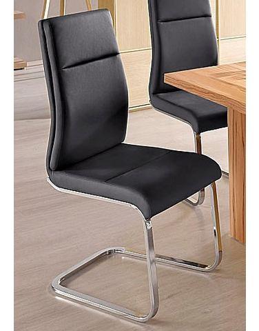 Vrijdragende stoel met frame van metaal