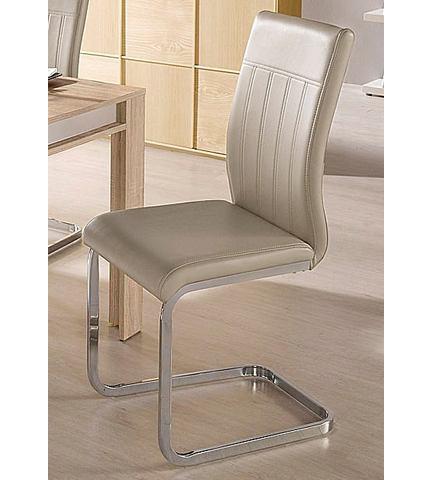 Eetkamerstoelen Vrijdragende stoel met zichtbare naden 560477