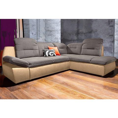 Hoekbank City Sofa met houten onderstel