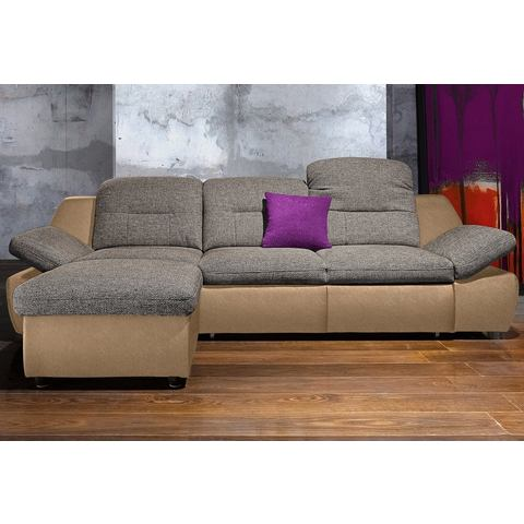 Hoekbank City Sofa met optionele slaapfunctie