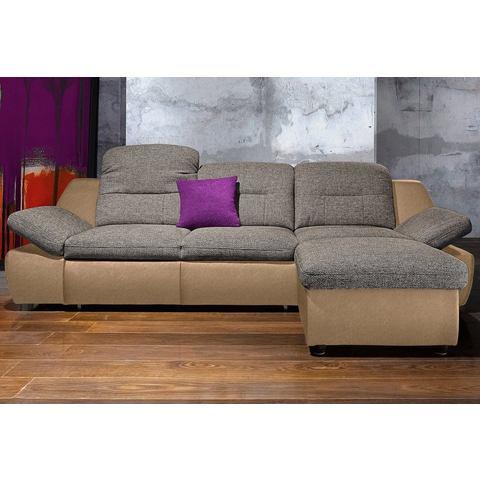 Hoekbank City Sofa met optionele slaapfunctie