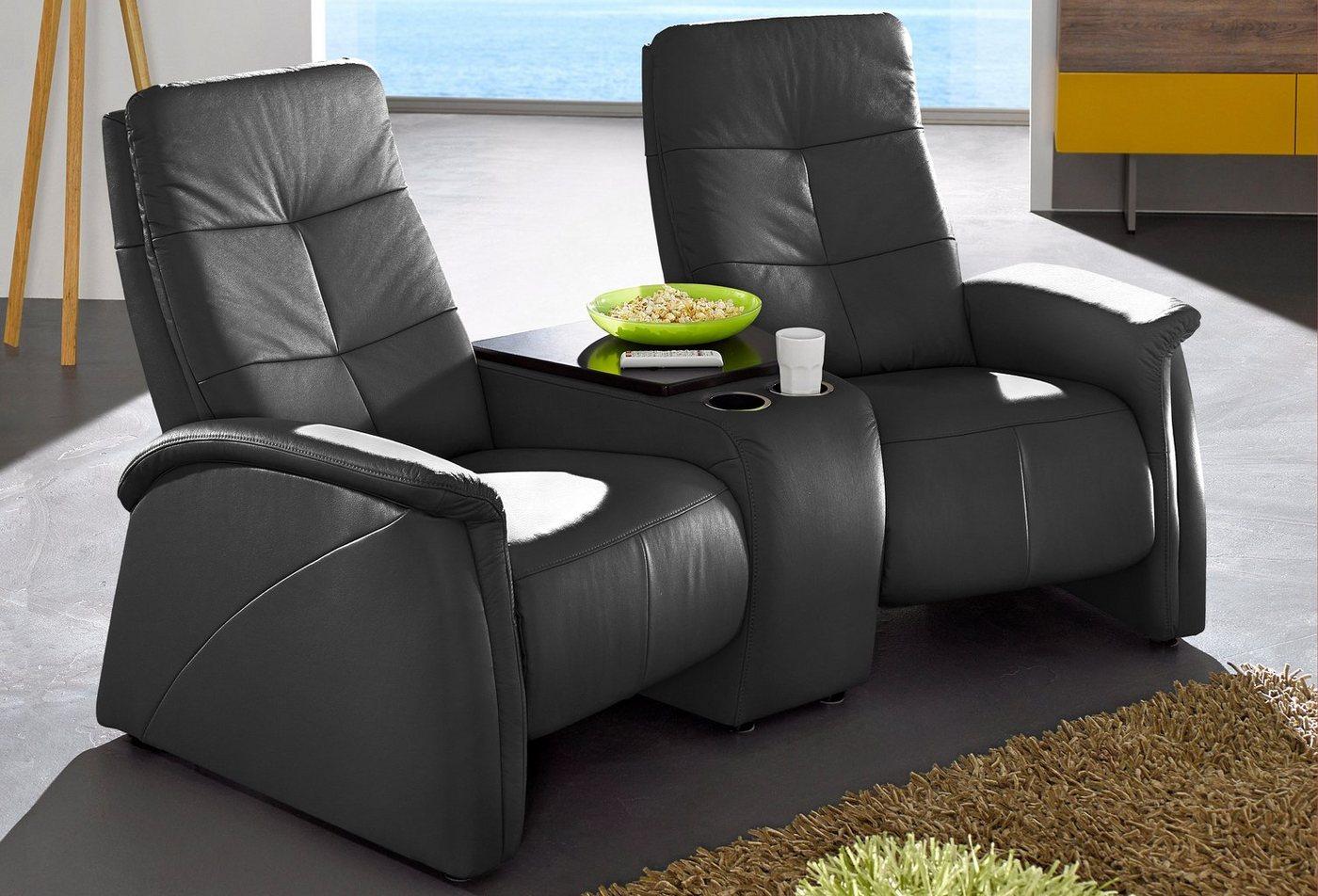 2-zitsbank City Sofa met geïntegreerd plateau