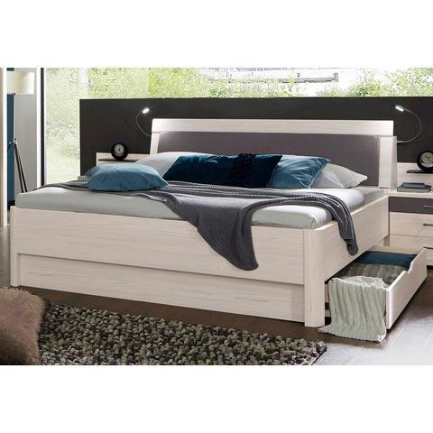 WIEMANN Bed met pool lariks decor pool lariks wit Wiemann 661568