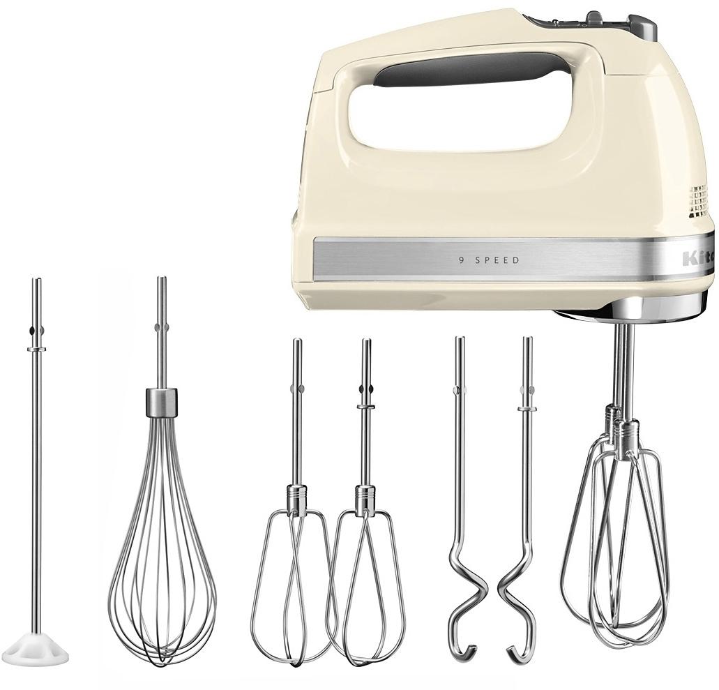 KitchenAid Handmixer 85 W crème nu online kopen bij OTTO