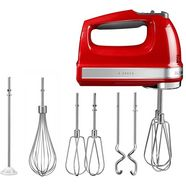kitchenaid handmixer in empire-rood rood
