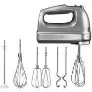 kitchenaid handmixer 5khm9212ecu zilver