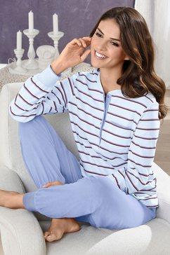 ringella pyjama in merkkwaliteit blauw