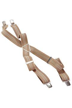 bretels met clipsluitingen bruin