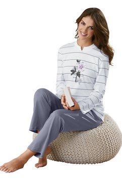 ringella pyjama in interlockkwaliteit beige