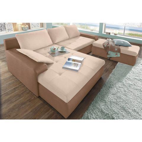 woonkamer extra groot hoekbankstel beige SIT en MORE Hoekbank naar keuze in XL of XXL 18