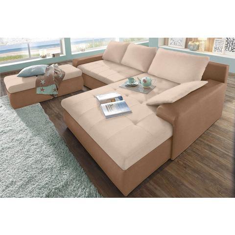 woonkamer extra groot hoekbankstel beige SIT en MORE Hoekbank naar keuze in XL of XXL 12
