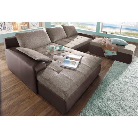 woonkamer extra groot hoekbankstel beige SIT en MORE Hoekbank naar keuze in XL of XXL 10