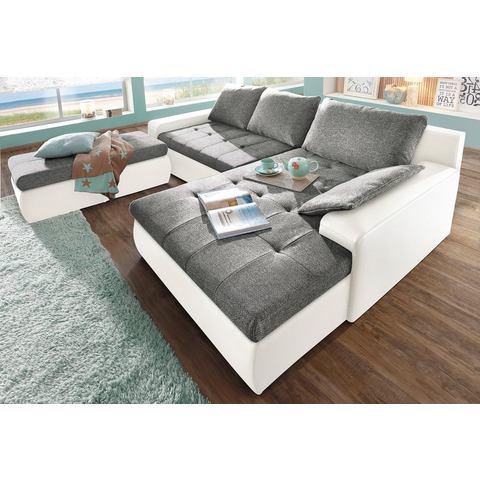 woonkamer extra groot hoekbankstel grijs SIT en MORE Hoekbank naar keuze in XL of XXL 6