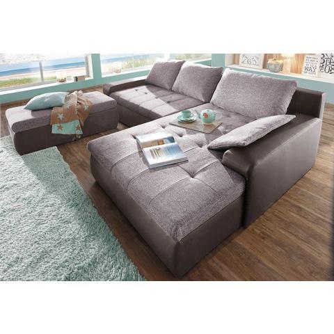 woonkamer extra groot hoekbankstel bruin SIT en MORE Hoekbank naar keuze in XL of XXL 5