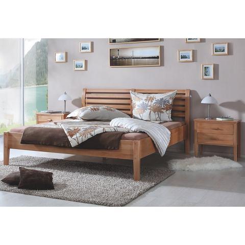 RELITA Bed van massief beuken 180x200 cm beige Relita 758990