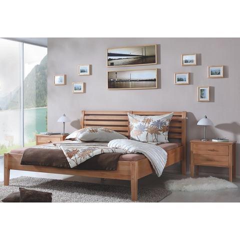 RELITA Bed van massief beuken 140x200 cm beige Relita 824237
