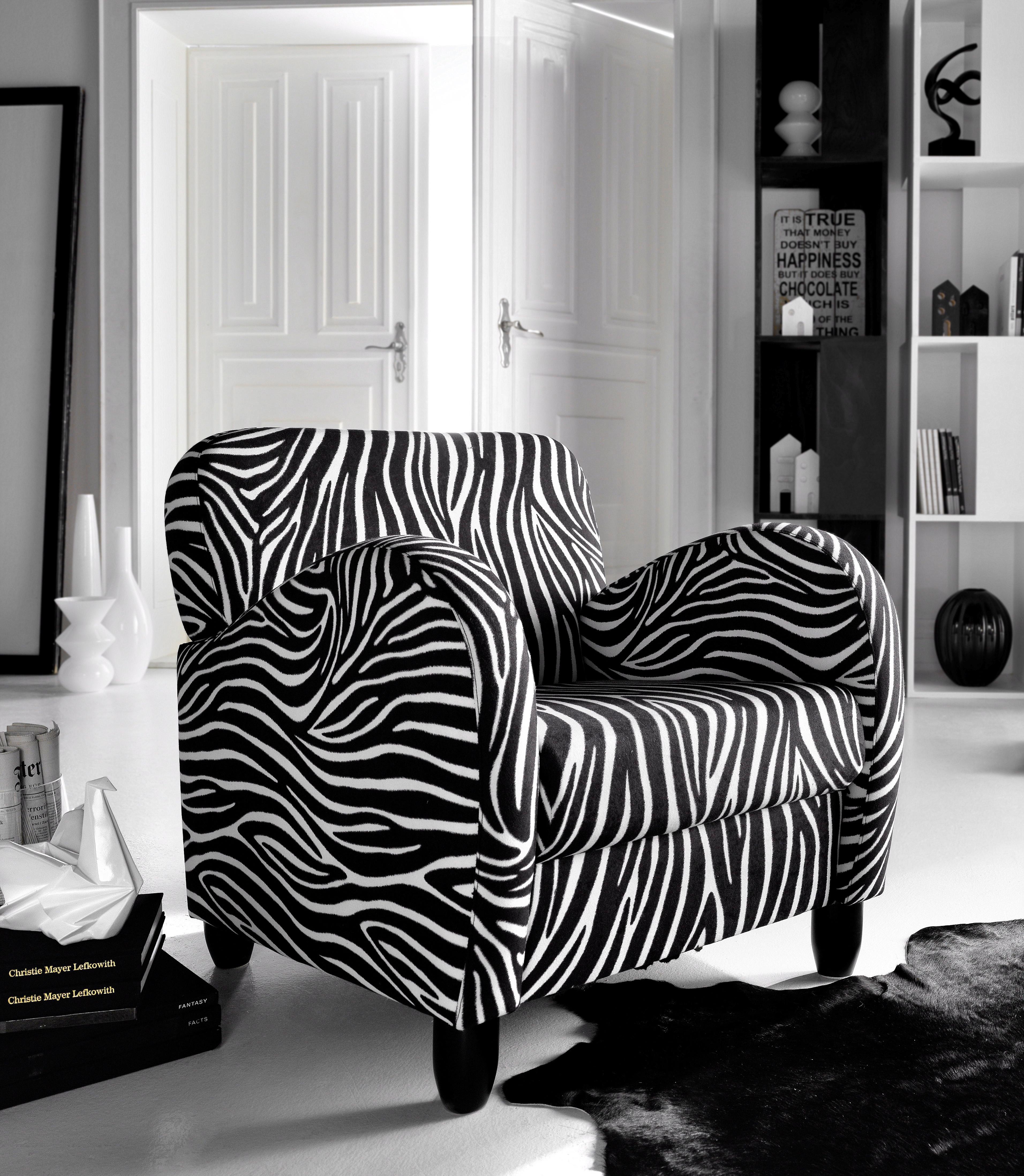 Inosign Fauteuil in zebra-look veilig op otto.nl kopen