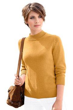 trui met turtleneck geel
