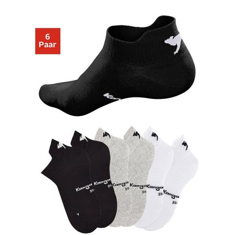 KANGAROOS Sneakersokken in set van 6 paar