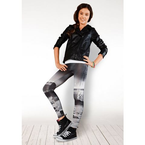 BUFFALO Legging met fotoprint