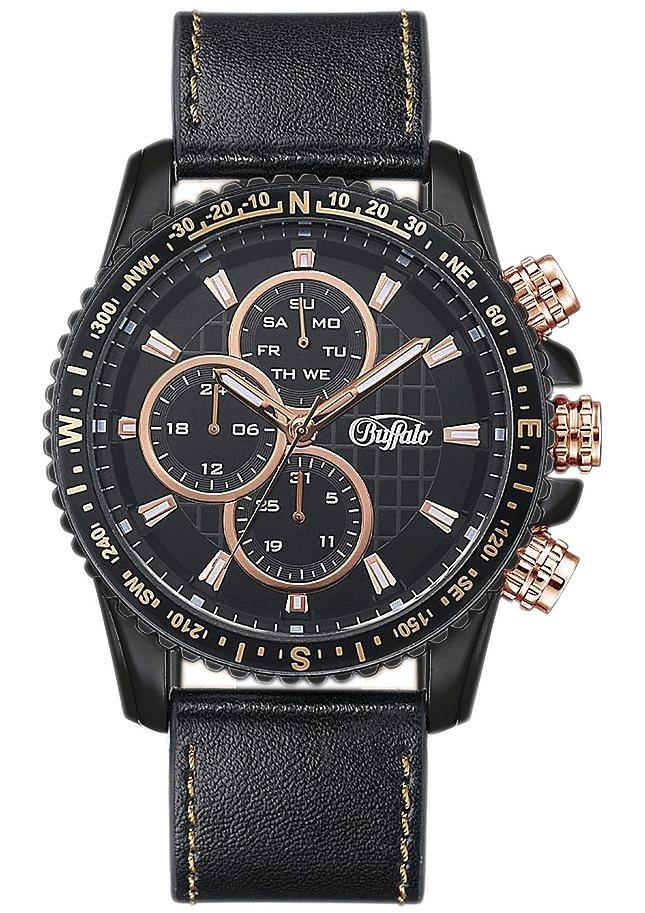 BUFFALO multifunctioneel horloge