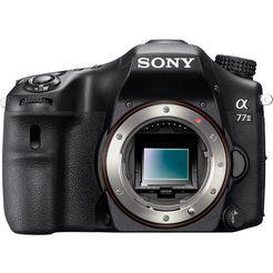 sony alpha ilca-77 ii body spiegelreflexcamera, 24,3 megapixel, 7,6 cm (3 inch) display zwart