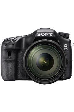 Alpha ILCA-77M2 Spiegelreflexcamera, SAL-1650 Zoom, 24,3 Megapixel, 7,6 cm (3 inch) Display