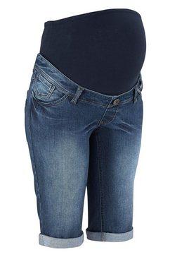 neun monate jeans-short blauw