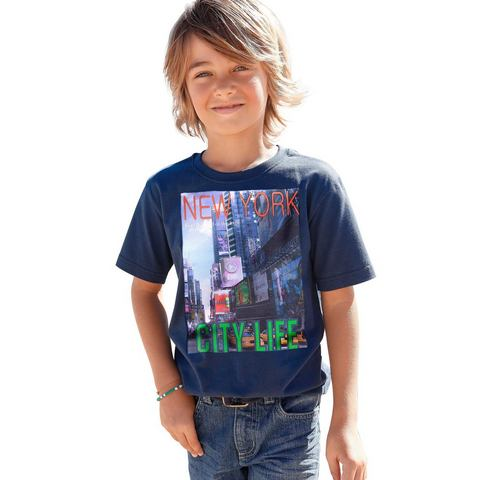 CFL Jongens-shirt met fotoprint New York