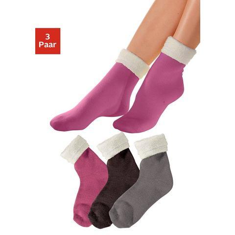 ARIZONA Wellness-sokken in set van 3 paar