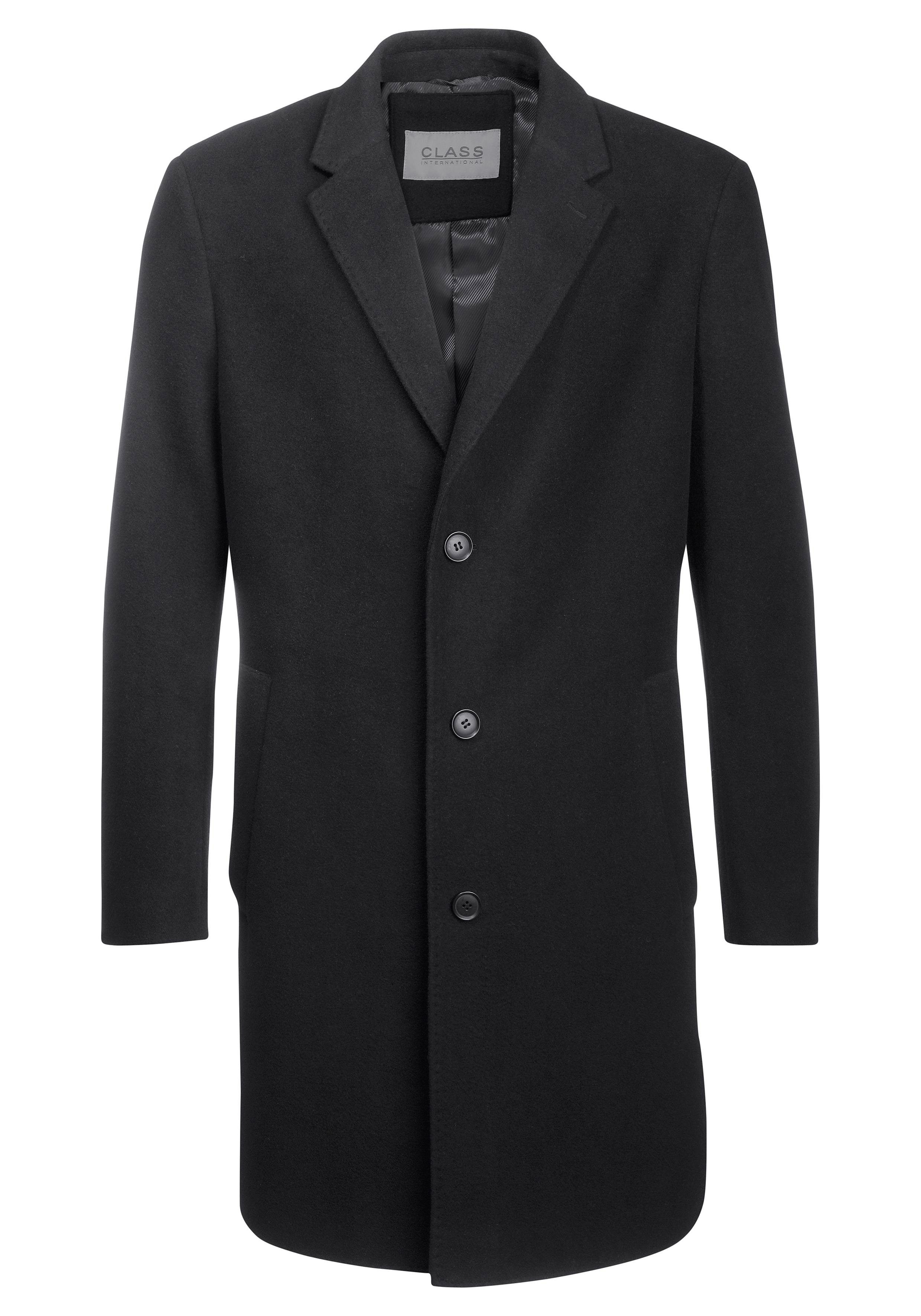 bruine jas mantel heren