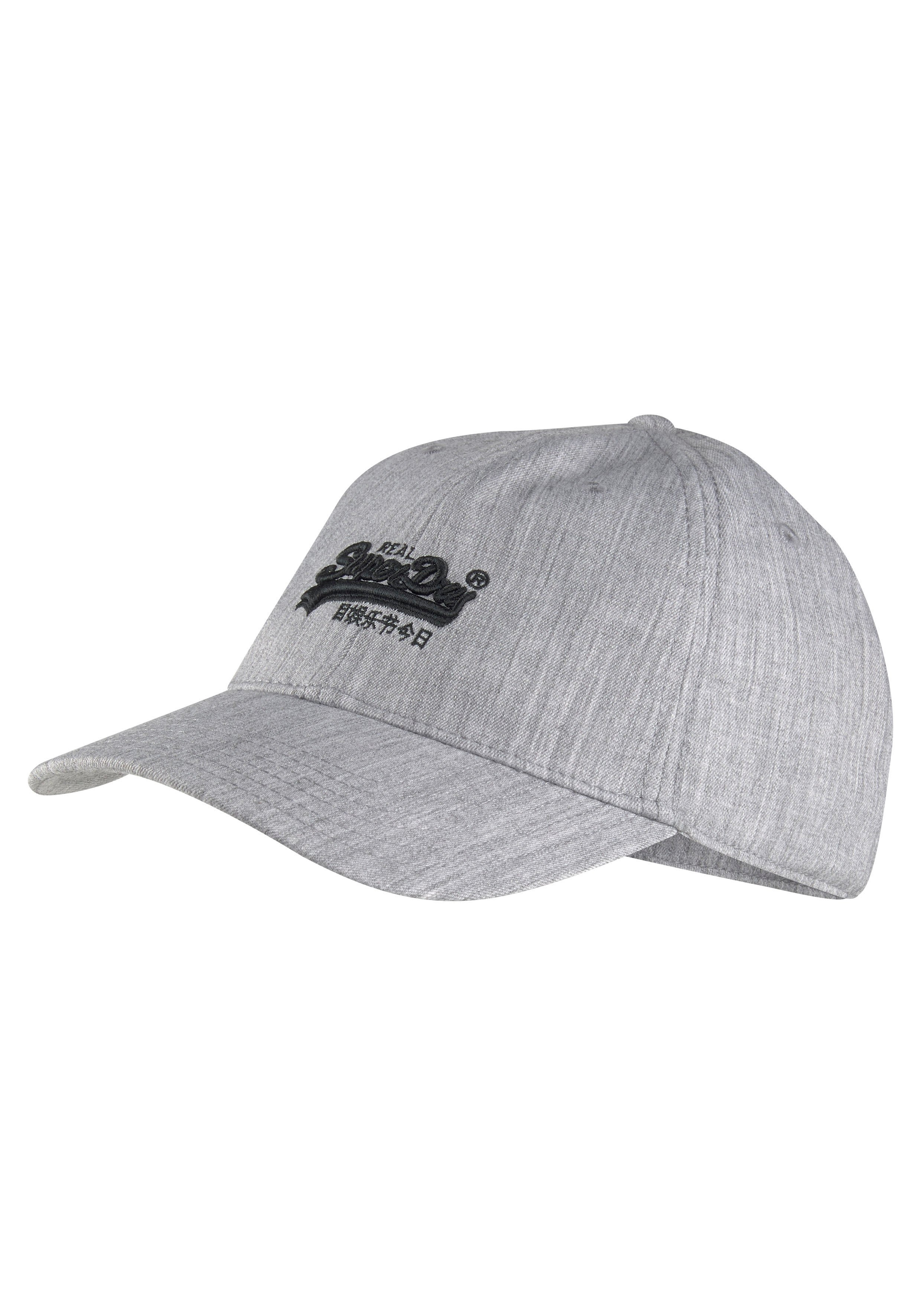 Superdry baseballcap met opgestikt superdry logo voor voordelig en veilig online kopen