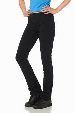 jazzpants met elastische band zwart