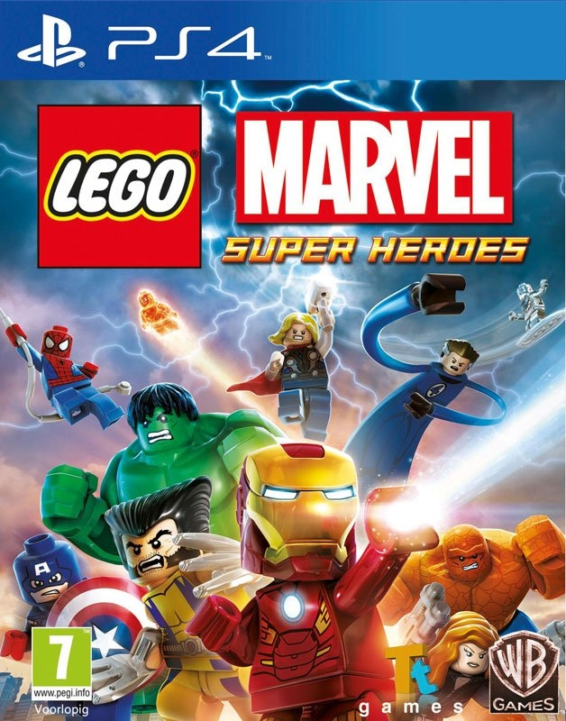 PlayStation PS4 Game LEGO Marvel Super Heroes bij OTTO online kopen
