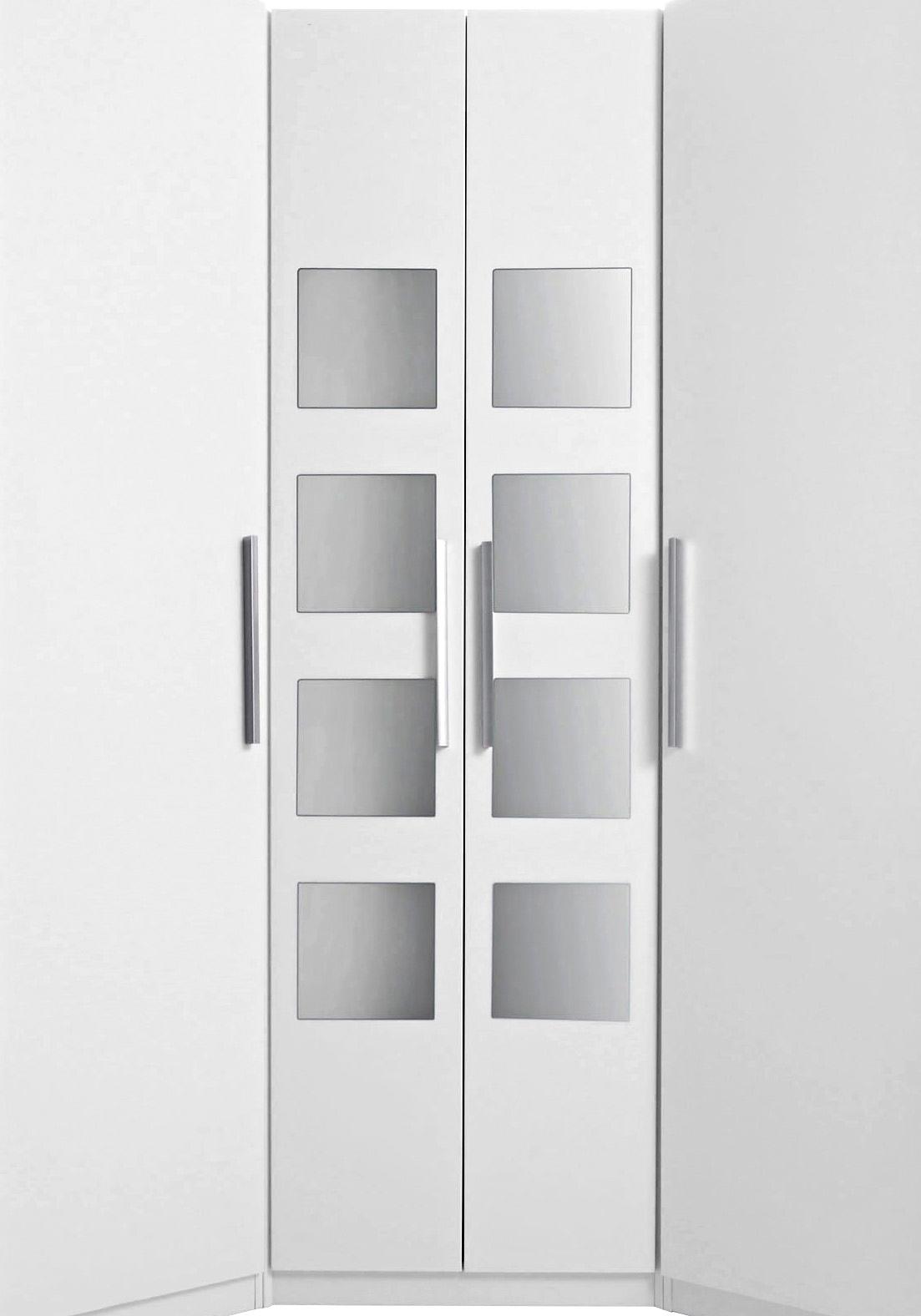 Hoek garderobekast saragossa met 8 spiegels online for Eckschrank otto