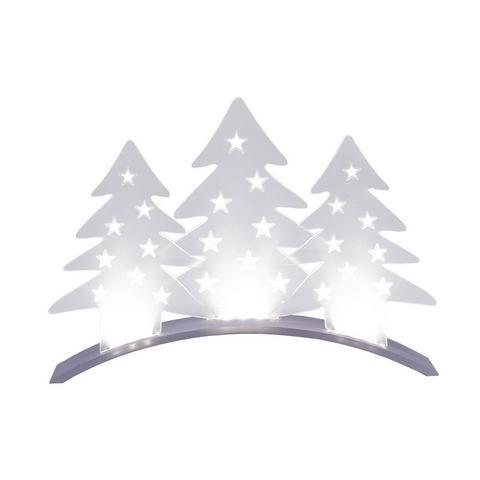 Doorschijnende sfeerlamp Plexi Trees LED