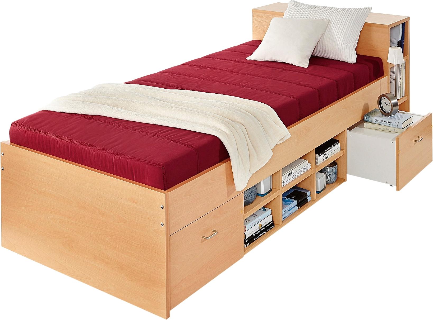 Breckle Bed met 3 open vakken bestellen: 14 dagen bedenktijd