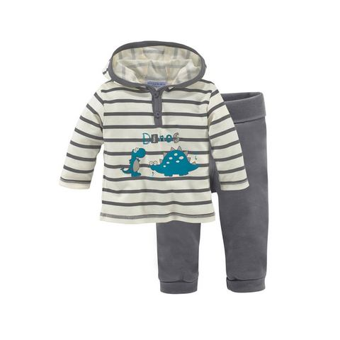 KLITZEKLEIN Shirt & broek in 2-delige baby-set