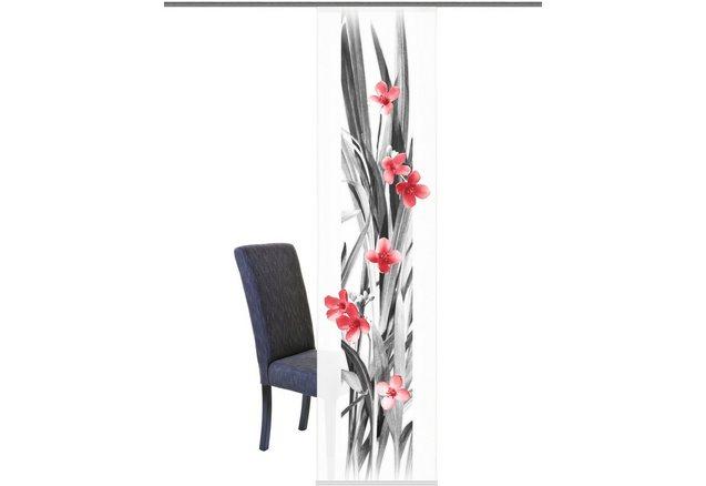 Paneelgordijn home wohnideen evergreen per stuk met for Wohnideen accessoires