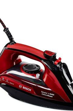 strijkijzer TDA503001P Edition Rosso, CeraniumGlissée-strijkzool, 3000 W