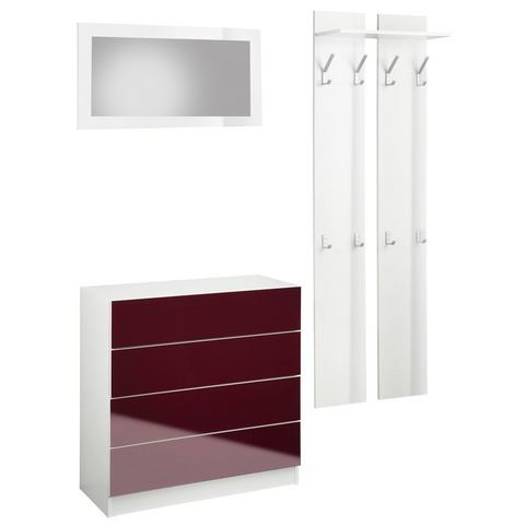 Complete garderobes Halmeubelen Vaasa 3 in 3-delige set 288085