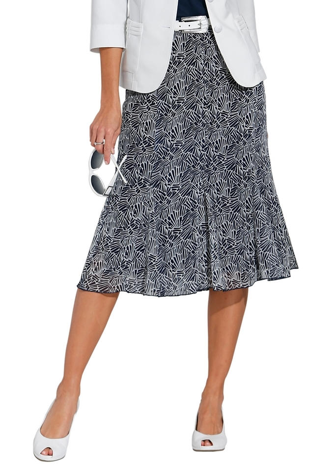 Lady rok in lichte chiffonkwaliteit - verschillende betaalmethodes