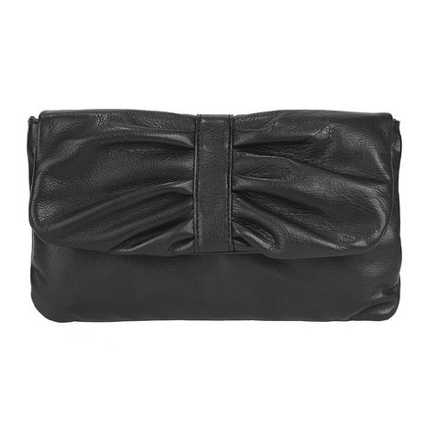 Samantha Look leren dames avondtas/clutch