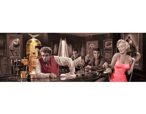 Decopaneel James Dean 52x156 cm