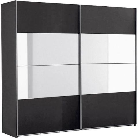Kledingkasten Zweefdeurkast met spiegelelementen 241301