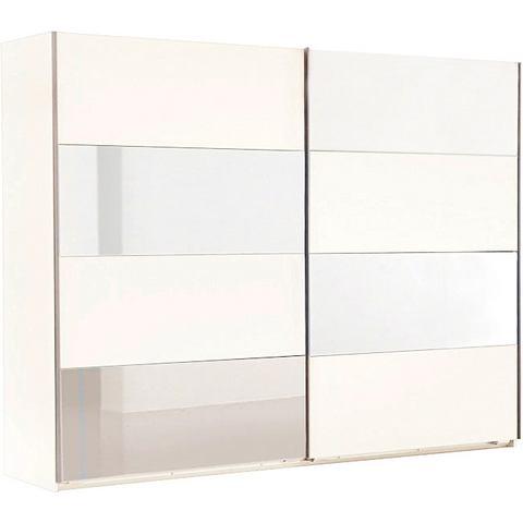 Kledingkasten Zweefdeurkast met spiegelelementen 515859