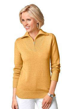 trui met schipperskraag geel