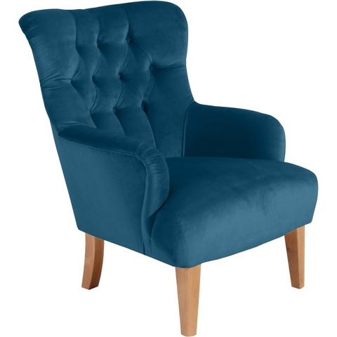 MAX WINZER® chesterfield fauteuil Bradley, met chique capitonnage